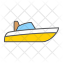 Speedboat Motorboat Motor Icon