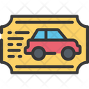 Speeding ticket Icon