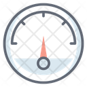 Pressure Meter Speedometer Pressure Gauge Icon
