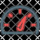 Speedometer Speed Icon