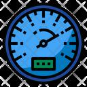 Speed Speedometer Car Icon