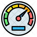 Speedometer Speed Velocity Icon