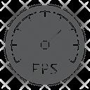 Frames Per Second Icon