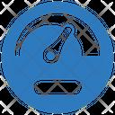 Speedometer Dashboard Performance Icon
