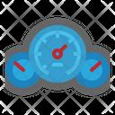 Speedometer Motor Vehicles Icon