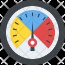 Speedometer Velocimeter Odometer Icon