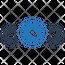Speedometer Odometer Gauge Icon