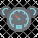 Speedometer Measuring Transportation Icon