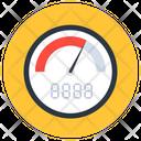 Speedometer Dashboard Gauge Icon