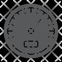 Speedometer Data Analytic Icon