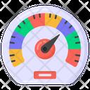 Odometer Speedometer Velocimeter Icon
