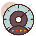 Dashboard Speedometer Speed Meter Icon