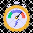 Odometer Speedometer Speed Indicator Icon