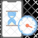 Smartphone Iphone Hourglass Icon