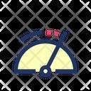 Speedometer Performance Dashboard Icon