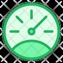 Odometer Vehicle Gauge Icon