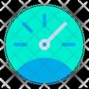 Meter Odometer Car Icon