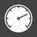 Speedometer Dashboard Indicator Icon