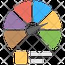 Speedometer Chart Gauge Chart Speedometer Graph Icon