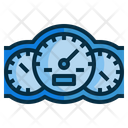 Speedometor Gauge Dashboard Icon
