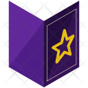 Spell Book Black Icon