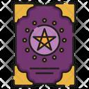 Spellbook Star Halloween Icon