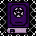 Spellbook Book Witchcraft Icon