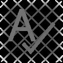 Spellcheck Icon