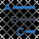 Spelling Align Alignment Icon