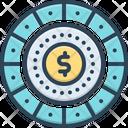 Spend Revenue Automatic Icon