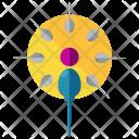 Fertilization Sperm Medical Icon