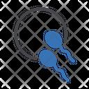 Sperm Pregnancy Oval Icon