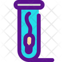 Sperm Eprubete Icon