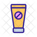 Spermicide Contraception Tube Icon