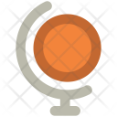 Sphere World Map Icon