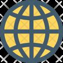 Globe Internet Sphere Icon