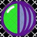 Sphere Cut Icon