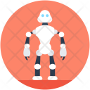 Spherical Robot Robotic Icon