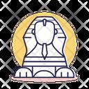 Travel Destination Sphinx Icon