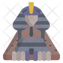 Sphinx Egyptian Giza Icon