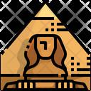 Sphinx Egypt Landmark Icon