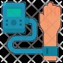 Sphygmomanometer Blood Hand Icon