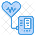 Blood Pressure Healthcare Sphymomanometer Icon