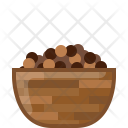 Spice Black Dish Icon
