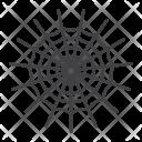 Spider Web Net Icon
