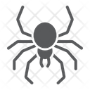 Spider Spooky Animal Icon