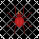 Spider Animal Wildlife Icon