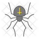 Spider Halloween Scary Icon