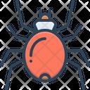 Spider Cobweb Prejudicial Icon
