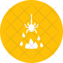 Spider Fire Evil Icon